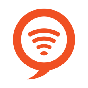 Skyroam WiFi: Smart Button is pressed.