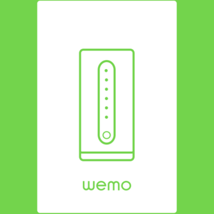 Wemo Dimmer: Long press.